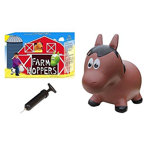 Farm Hoppers Paard Skippy Dier inclusief Handpomp