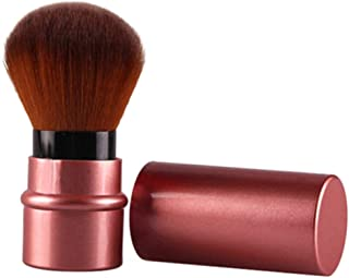 zsjhtc 1 Pc Random Color Blush Brush Professional Retractable Blusher Foundation Face Powder Beauty Makeup Tool
