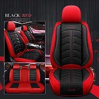 シボレーのスポーツレザーカーシートカバーすべてのモデルAveo Cruze Lacetti Captiva TRAX LOVA SAILカーアクセサリーカースタイリング、ブラックレッド枕なし
