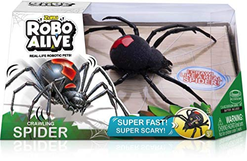 Product Image of the Robo Alive Crawling Spider Battery-Powered Robotic Toy by ZURU