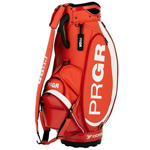 プロギア PRGR 2020年 ツアープロ使用モデル キャディバッグ PRCB-201 9.5型 5.3kg (オレンジレッド)