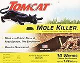 Best Mole Killers - Tomcat Mole Killer Worms 10pk Review