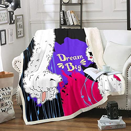Manta de forro polar Tie Dye Boho Hippie Tie Dye Sherpa Manta para sofá de cama, manta bohemia de felpa gitana azul blanca raya cálida manta difusa decoración de dormitorio doble 60 x 50 pulgadas