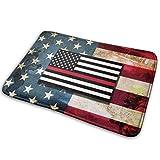 LaoJiNan-shop - Felpudo con diseño de bandera de Estados Unidos