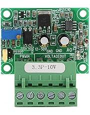 Roberee Convertidor de señal PWM a Voltaje -3.3V Señal PWM a convertidor de Voltaje 0-10V D/A Módulo PLC Digital-analógico