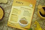 SVATV - Polvere naturale per viso e corpo | Made in India | per la cura dei capelli e della pelle I solo per uso esterno (Multani Mitti/argilla bentonetta/argilla terra di Fuller, 227 g)