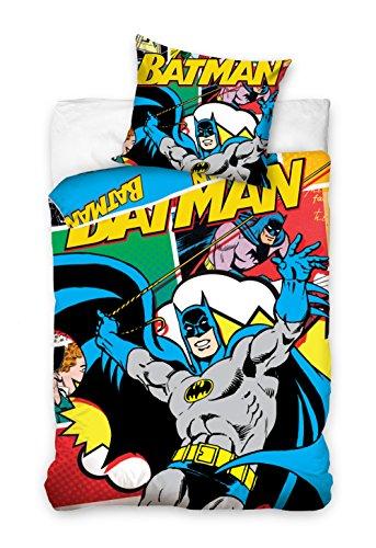 DC Batman Bettwäsche Kinder Bettwäsche 160x200 cm 8002