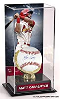 Matt Carpenter St. Louis Cardinals Autographed Baseball and Gold Glove Display Case with Image - Fanatics Authentic Certified