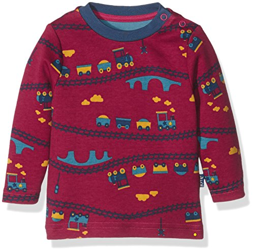 Kite Choo choo t-shirt, Polo Bébé garçon, Rouge, 3-6 mois (Taille fabricant: 3-6M)