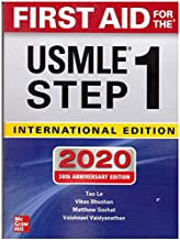 FIRST AID FOR THE USMLE STEp 1, 2020