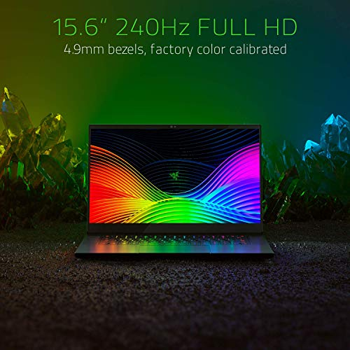 Razer Blade 15 Gaming Laptop 2019 - Intel Core i7- 9750H 6 Core, GeForce RTX 2070 Max-Q, 15.6