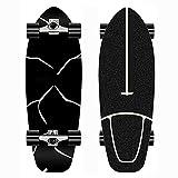YHNJI Mini Skateboard Adulto Completo Monopatin para Principiantes con Truck CX4 Rodamientos ABEC-11 7 Capas de Madera de Arce Skateboards Pro Longboard para Niños Adolescentes Adultos Niñas