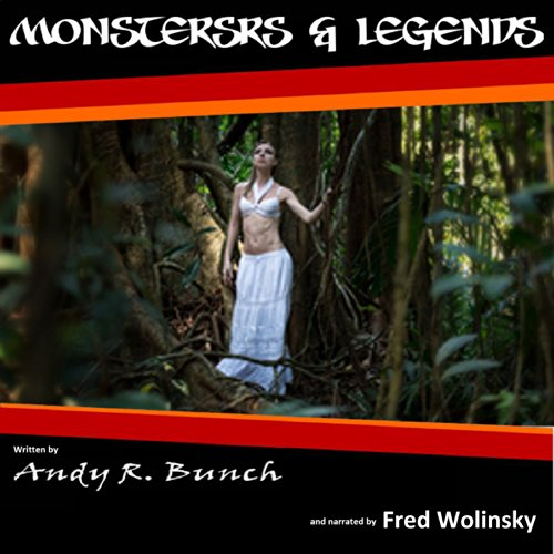 Monsters and Legends audiobook cover art