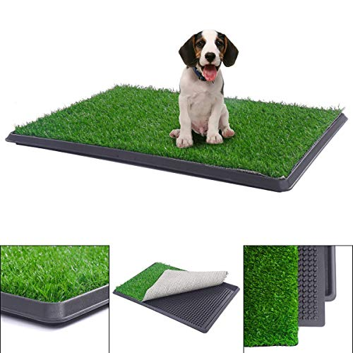 Unknown 30'x20' Puppy Pet Potty Training Pee Indoor Toilet Dog Grass Pad Mat Turf Patch