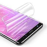 RIWNNI [3 Stück Schutzfolie für Samsung Galaxy S9, Ultra Dünn Weiche TPU Bildschirmschutzfolie (Nicht Panzerglas), HD Klar Bildschirmschutz Folie Full Screen für Samsung Galaxy S9 - Transparent