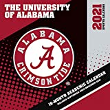 Alabama Crimson Tide 2021 12x12 Team Wall Calendar