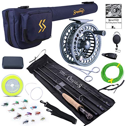 Top 10 Best Sougayilang Fly Fishing Reel Combo Comparison