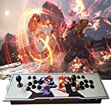 MOSTOP 3D & 2D Arcade Video Game Console 2680 Games in 1 Pandora's Box 180 3D Games 1080P HD 2 Players Arcade Machine with Double Joystick Support Expand 6000+ Games (2680 White KOF)