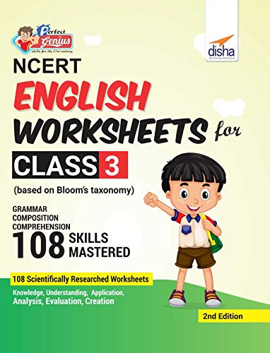 Perfect Genius NCERT English Worksheets for Class 3 (Based on Bloom's Taxonomy)