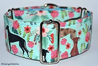 El Galgo Cotilla Greyhounds Garden - Martingale Collar Galgos ...