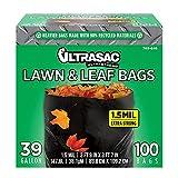 Aluf Plastics - AM LAWN AND LEAF Lawn and Leaf Bags by Ultrasac - 39 Gallon...
