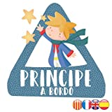 Bebé a bordo - Príncipe a bordo – triángulo adhesivo de Bebé a Bordo - Castellano