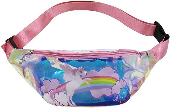 Hip Bag Fannie Pack  Waist Bag  Crossbody Bag  Rainbow Retro Purse  Little Girls Purse