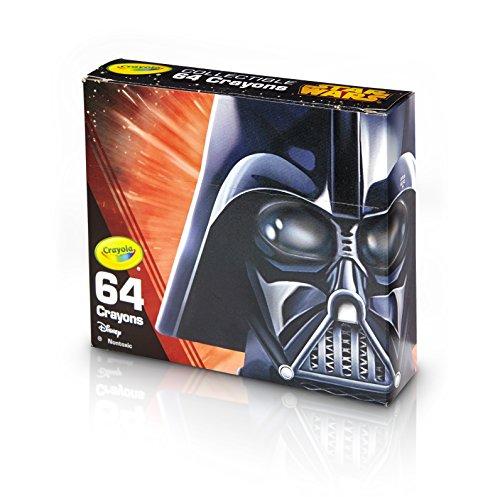 Crayola Limited Edition Crayon, Star Wars Darth Vader Toy (64 Count)