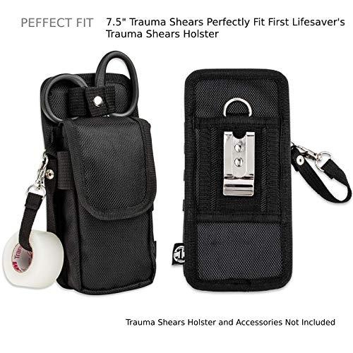First Lifesaver Titanium Coated Trauma Shears - 7.5 Inches
