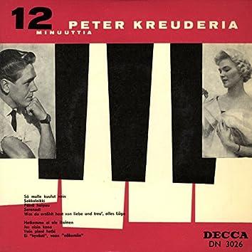 12 minuuttia Peter Kreuderia