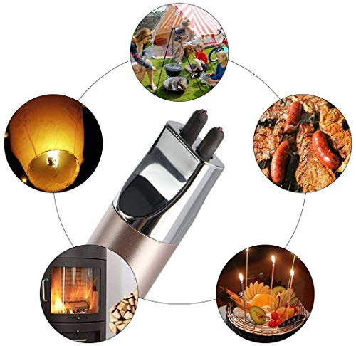 REIDEA Candle Lighter, USB Electric Lighter,Flameless-Windproof Arc Lighter Rechargeable with Safety Switch for Home…