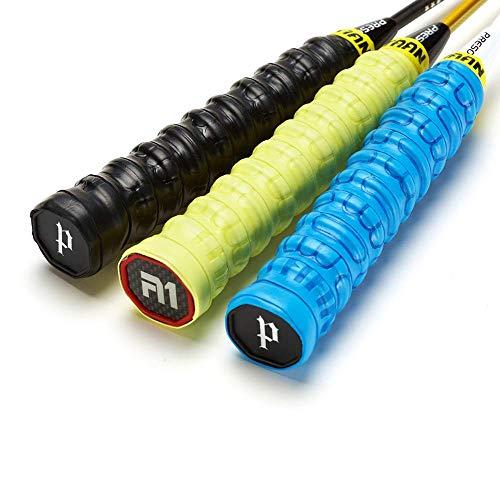 3Pcs/lot Professional Over Grip Tennis Racket Badminton Handle Tape Anti Slip Shock Absorption Sweatband (Random Colors)