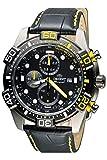 Orient Herren Chronograph Quarz Uhr mit Leder Armband FTT16005B0