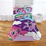 Hasbro My Little Pony Kids Blanket Twin/Full Throw 62' x 90'
