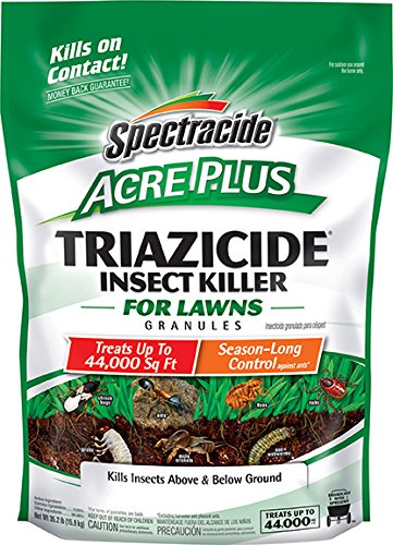 Spectracide Triazicide Acre Plus Insect Killer For Lawns Granules,...