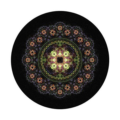 Alfombras redondas para sala de estar corte vintage black60cm moderno estilo nórdico terciopelo dormitorio ronda alfombra