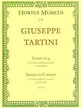 Tartini, Giuseppe - Sonata in g minor (Devil's Trill) For Violin and Basso continuo