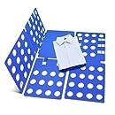 FunRun Doblador de Ropa, para Adulto o Infantil Camisas Camisetas Pantalones Toallas Polo, Azul (59 x 70 cm)FunRun Doblador de Ropa, para Adulto o Infantil ...