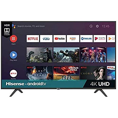 Hisense Smart TV 58 Pulgadas LED 4K 60Hz Sistema Roku Modelo 58H6550E