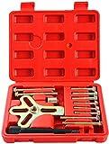 DASBET - Juego de extractor de volante de equilibrio armónico de 13 piezas