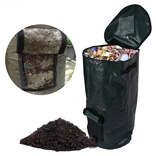 Best Buy! XIANGMENG Environmental PE Cloth Compost Bag Organic Garden Waste Bag, Waterproof, Anti-Co...