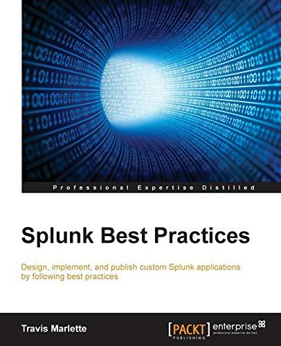 Splunk Best Practices