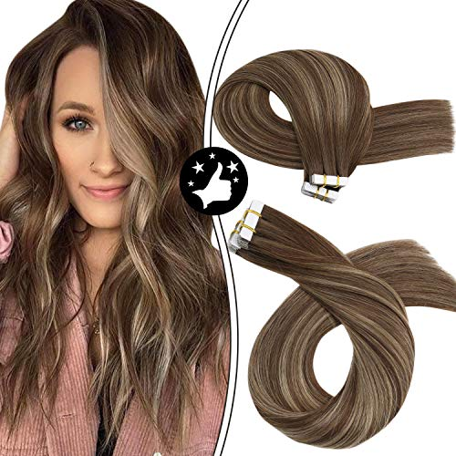 Moresoo Tape in Remy Hair Extensions