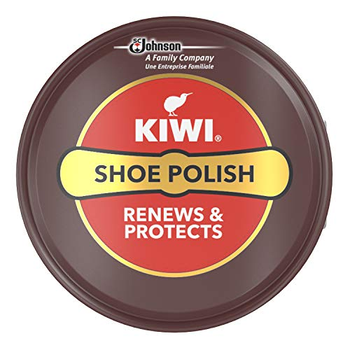 KIWI Shoe Polish, 50 ml Dose, dunkelbraun