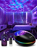 Galaxy Projector, Skylight Ocean Wave Galaxy Light for Adults Kids Bedroom, Star Projector Night Light with White Noise, Timer, Bluetooth Speaker, Cool Light Sensory Light Aesthetic Room Decor Lamp