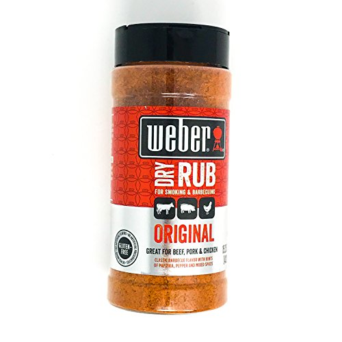 Weber Smoking and Barbecuing Original Dry Rub, 15.25 Ounce