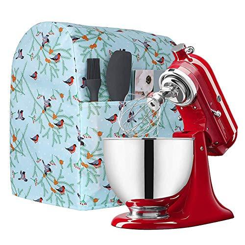 Kitchen Aid Mixer-Abdeckung, Ständer, Mixer-Abdeckung für 6-8 Quart kompatibel mit Kitchenaid und Hamilton Mixern, 40,6 cm H x 22,9 cm B x 35,6 cm L, Staubschutz für kleine Geräte (grün)