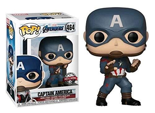 Funko Pop Captain America 464 Avengers Marvel Figurine 9 cm Édition spéciale Cinéma