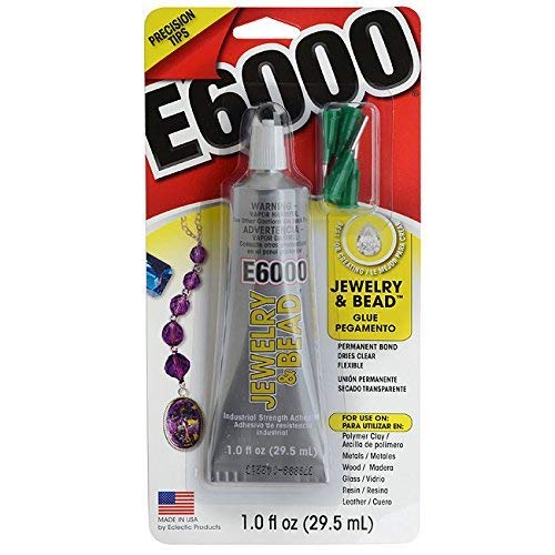 E6000 Jewelry And Bead Adhesive With 4 Precision...