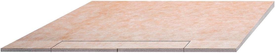 "Schluter Kerdi Wall Line Drain Shower Tray 55"" X 55"" KSL1400S by Schluter Systems"